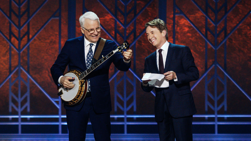 steve martin and martin short an evening you will forget for the rest of your life netflix official site - The Night They Saved Christmas Dvd