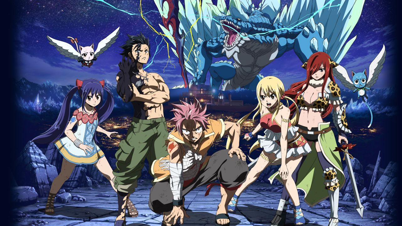 Fairy tail dragon cry netflix