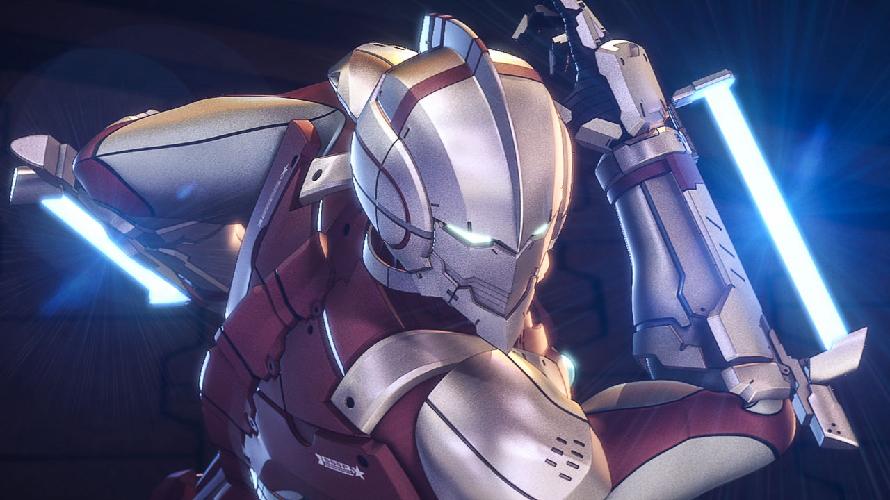 Ultraman netflix official site