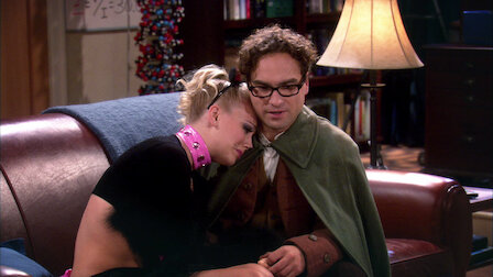 Leonard, Penny, Sheldon en hun vrienden.