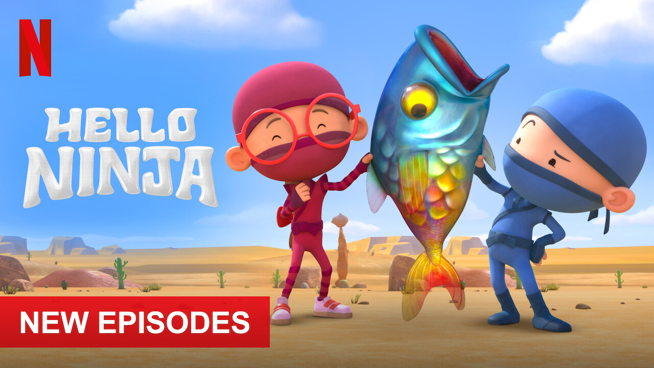 Hello Ninja on Netflix USA